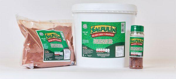 sal de chile con chapulín