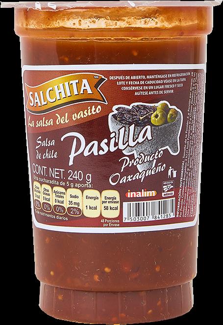 salsa mexicana chile pasilla